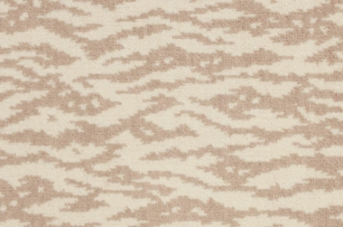 Image of Muare #2019 Carpet in White/Beige