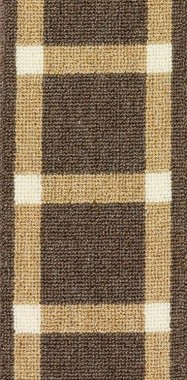Image of Michael #2947 border in Brown/Natural/White