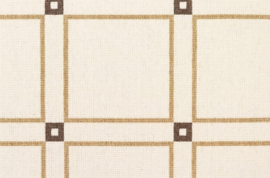 Image of Basil Squares #3033 in Brown/Natural/White Ground