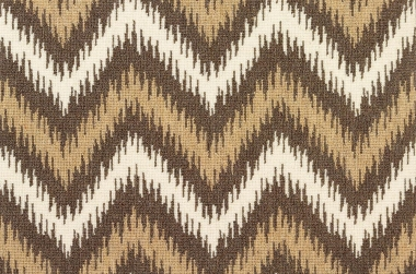 Image of Scott Chevron #31492 carpet in Brown/Natural/White