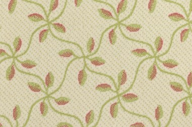 Image of Milkweed #31545 Carpet in DB White/Green/Coral