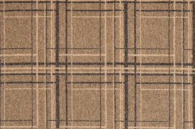 Image of urban plaid #31582 carpet in camel, med taupe and Norwegian gray