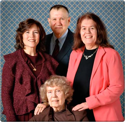 Image of the Morrow Family